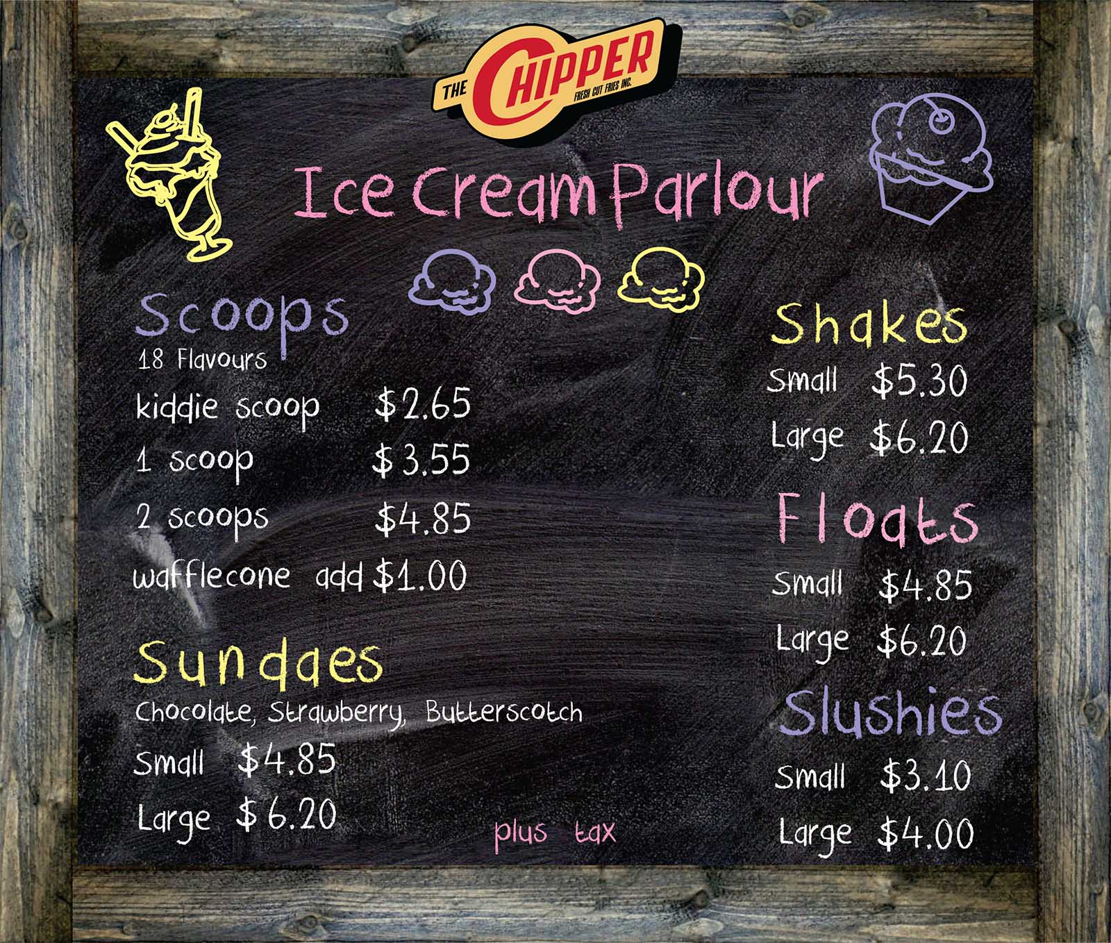 Ice Cream at The Chipper